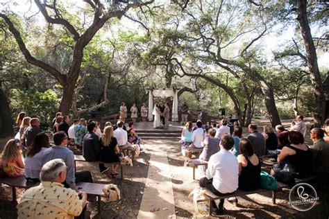 outdoor wedding venues in orange county california southern california wedding venue oak nature