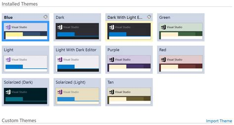 theme generator visual studio tweak away visual studio 2017 color theme editor arrives
