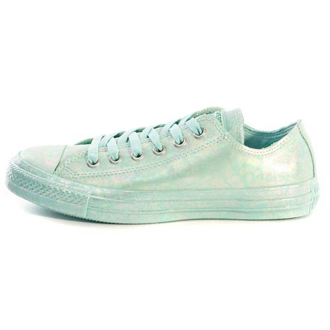 Light Blue Converse by Converse Chuck All Motel Pool Womens Trainers
