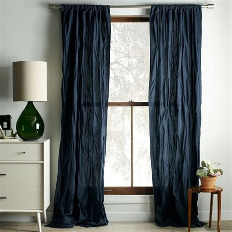 how to make pintuck curtains pintuck curtains west elm