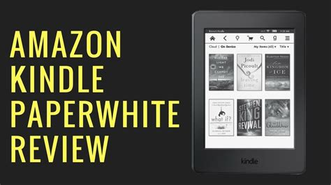 amazon kindle paperwhite 3 2015 review youtube the ebook reader amazon kindle paperwhite 3 2016 review
