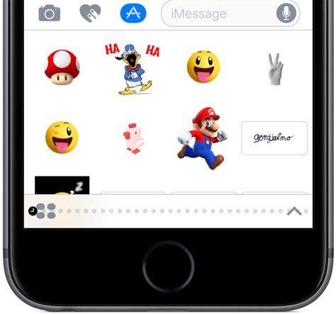 Iphone Text Stickers how to use stickers in messages for iphone and