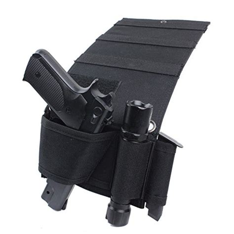 bed gun holster tactical adjustable under mattress bed seat vehicle car