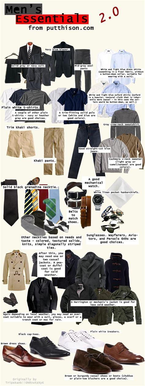 men s apartment essentials men s clothing essentials pictures photos and images for