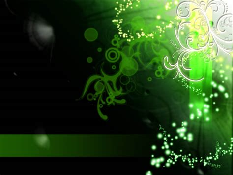 Green Abstrac Black wallpapers green abstract wallpapers