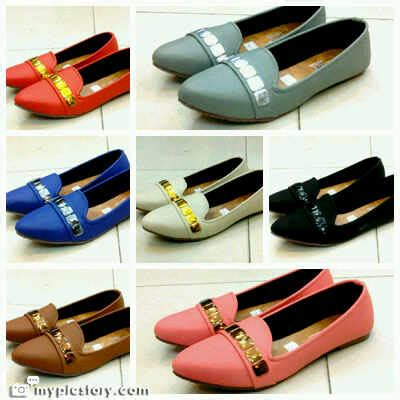 Cmr222 Flat Shoes Ready Stock flat shoes import bangkok ready stock only rp 120 000