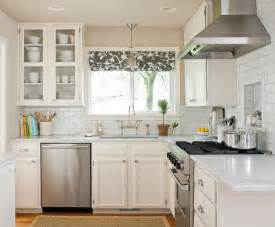 Small Kitchen With White Cabinets Black And White Kitchens And Their Elements