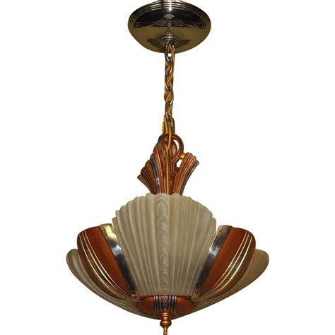 1930s Lighting Fixtures Mid Century 3 Light Ceiling Fixture C 1930s From Vintagelights On Ruby