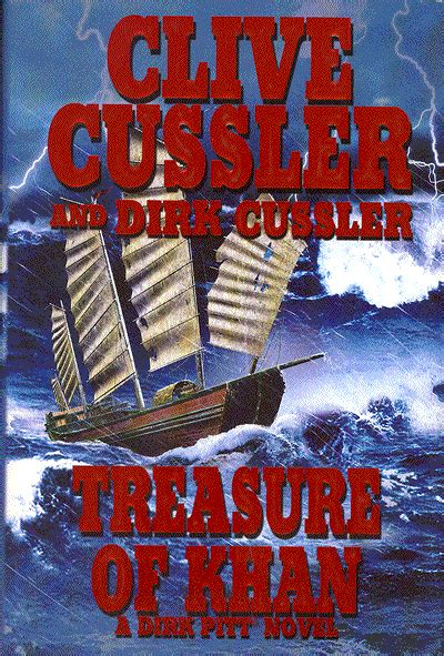 treasure of khan dirk treasure of khan by clive cussler and dirk cussler read by scott brick review novel reaction