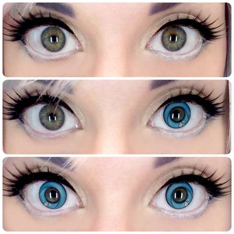 cool anime eye contacts the gallery for gt white eye contacts no pupil