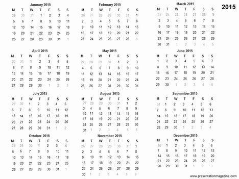 free 2015 calendar template free 2015 printable calendar template