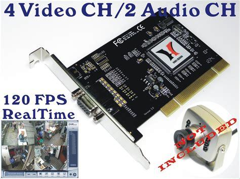 Cctv Card For Pc cctv security surveillance system dvr card for pc standalone dvr system