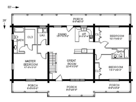 Home Plans Single Story by Log Home Floorplan Swan Valley The Original Lincoln Logs