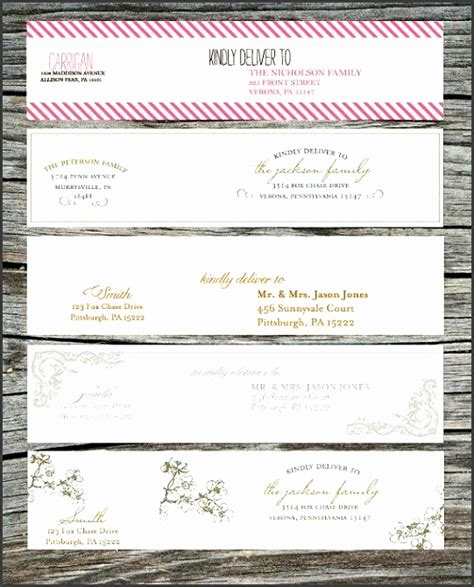 adress label template wedding return address labels template return