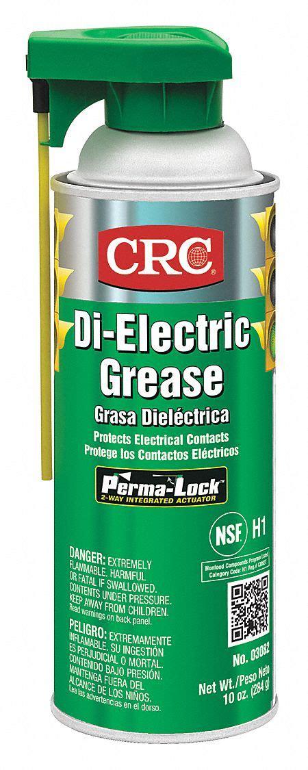 crc clear silicone  electric grease  oz  nlgi