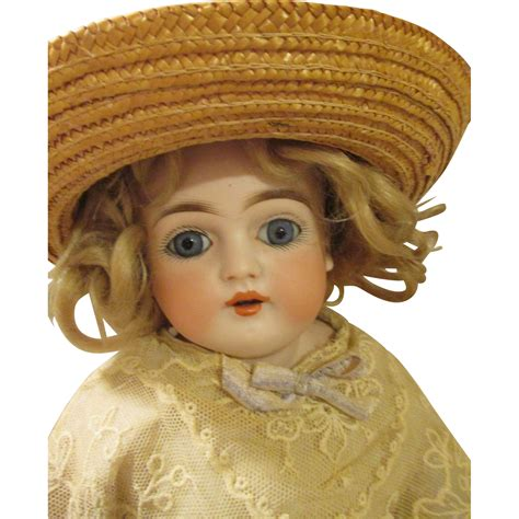 bisque doll leather antique leather kestner bisque doll from