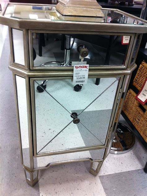 tj maxx table ls decor mirrored table