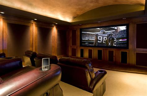 houzz media room gentleman s pub traditional home theater portland