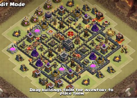 th9 base with war bomb tower 2016 12 top th9 war base anti everything 2018 new bomb tower
