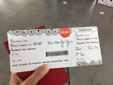 airasia hot boarding pass this is not a boarding pass not your typical tourist