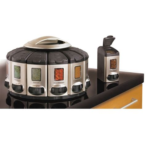 Spice Carousel Rotating Spice Carousel Country Kitchens