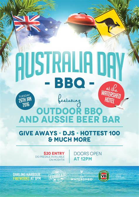 Water Shed Tickets by Buy Australia Day Bbq At The Watershed 2016 Tickets Nsw
