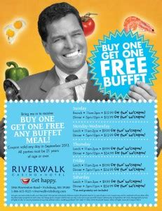 riverwalk casino buffet riverwalk hotel and casino discount print coupon king