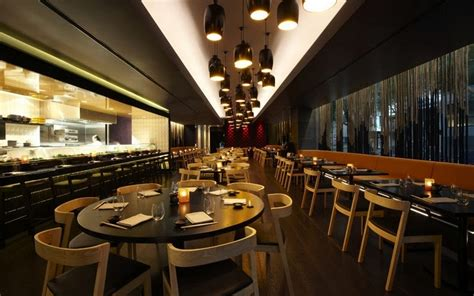 Best Restaurant Architecture Design With Round Table And