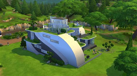 sims house building the sims 4 futuristic house building youtube