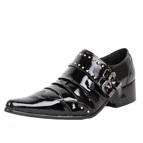 mens designer black leather dress shoes cw760026 cwmalls