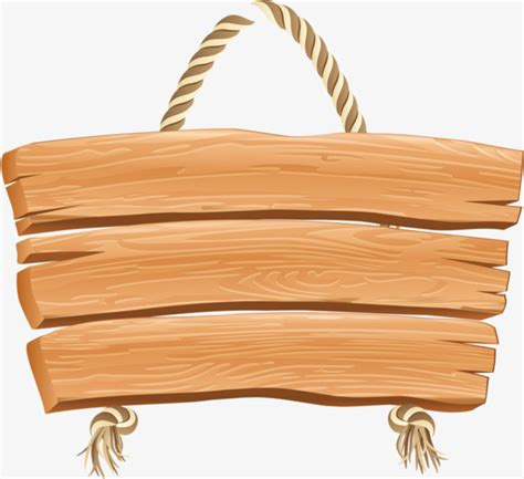 Wood Signs Wood Clipart Rope Wood Png Image And Clipart For Free Download Wood Sign Templates