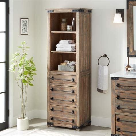 linen storage cabinet signature hardware