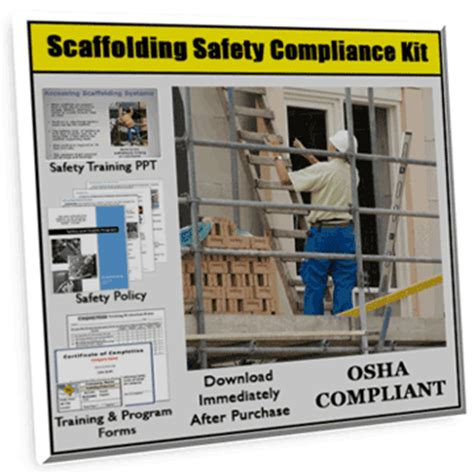 Scaffolding Safety Training Policy And Forms Xo Safety Scaffold Safety Program Template