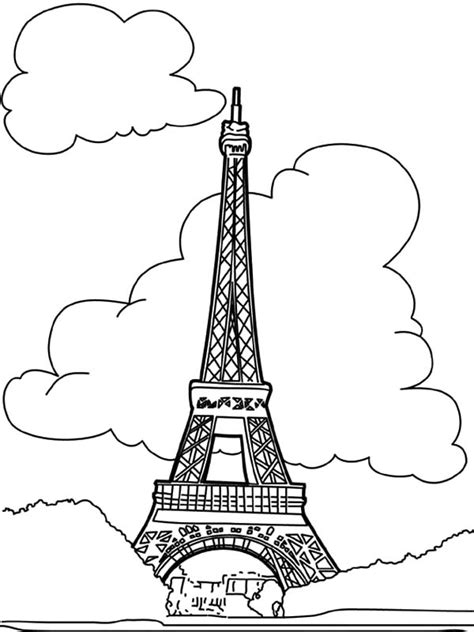 Tower Coloring Pages Towers Coloring Page