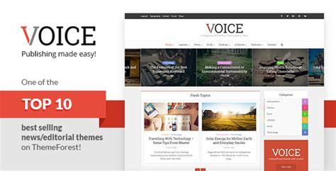 themeforest voice voice clean news magazine wordpress theme by meks