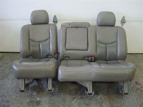 cadillac escalade 2nd row bench seat 03 06 yukon tahoe escalade rear seats 2nd row 60 40 bench