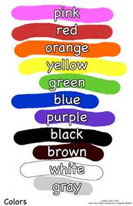 how to say color in using the colors to describe de ingl 234 s cursos