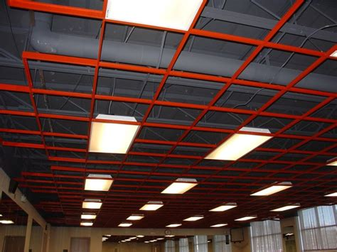 open grid ceiling armstrong ceiling colored