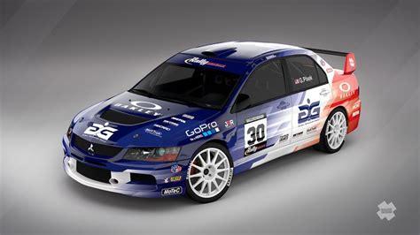 2015 mitsubishi rally car george plsek mitsubishi lancer evo ix design for rally