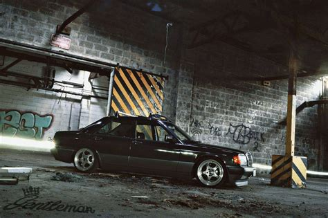 bagged mercedes e class mercedes benz w201 190e bagged benztuning