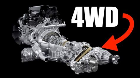 how does a cars engine work 1997 land rover defender interior lighting how 4wd works four wheel drive youtube