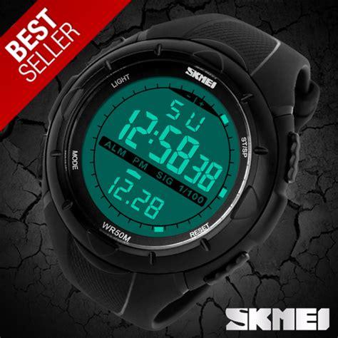 1081 Black Green Jam Tangan Skmei Original Water Resistant jual skmei sport 1025 original water resistant 50m