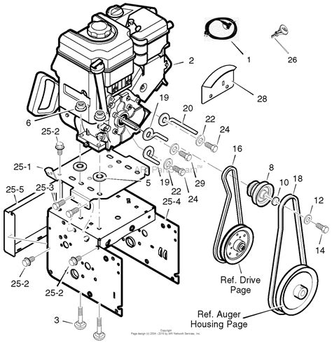 murray snowblower parts diagram murray 536 889253 craftsman dual stage snow thrower