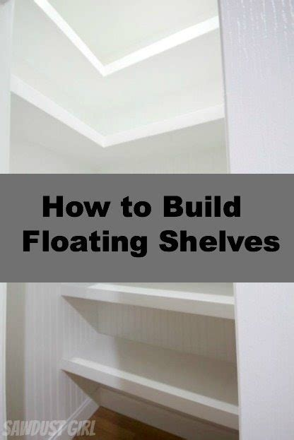 How To Build A Floating Corner Shelf by How To Build Corner Floating Shelves Sawdust 174