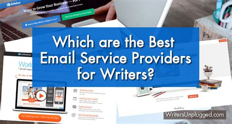 best providers which are the best email service providers for writers