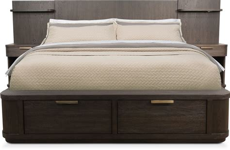 storage king bed shop all king beds american signature furniture