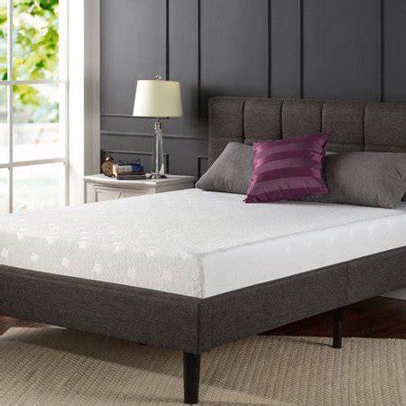 spa sensations 8 quot memory foam comfort mattress walmart