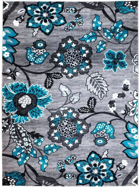 teal and grey area rug new uncategorized gray area rug white border pomoysam