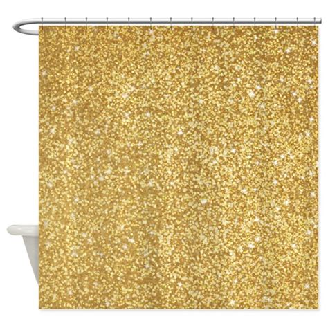 gold shimmer curtains gold glitter shower curtain by admin cp62726417