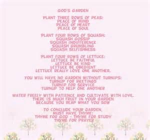 Garden Of Poem Poem God S Garden We It 10 And Poem